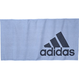 adidas Towel L glossy blue/tech ink glossy blue/tech ink