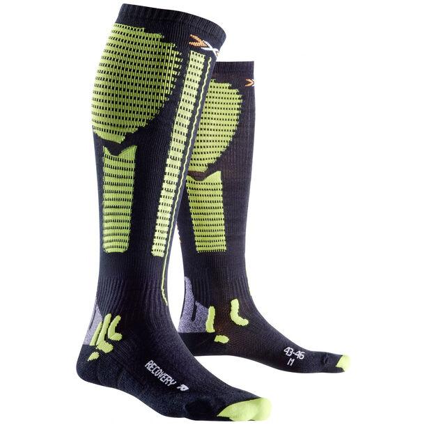 X-Bionic Precuperation Recovery Socks Herren black/acid green