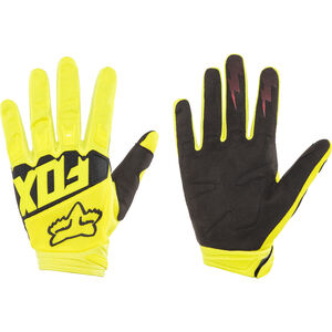 Fox Dirtpaw Race Gloves yellow