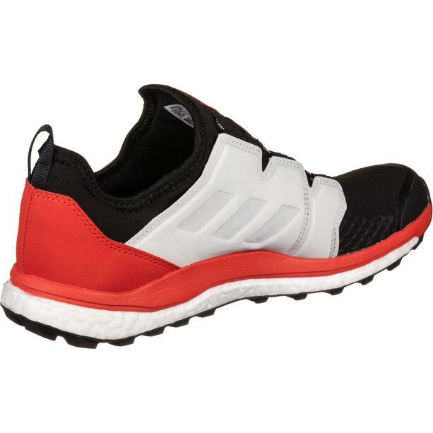 adidas TERREX Agravic Boa Schuhe Herren black/white/active red