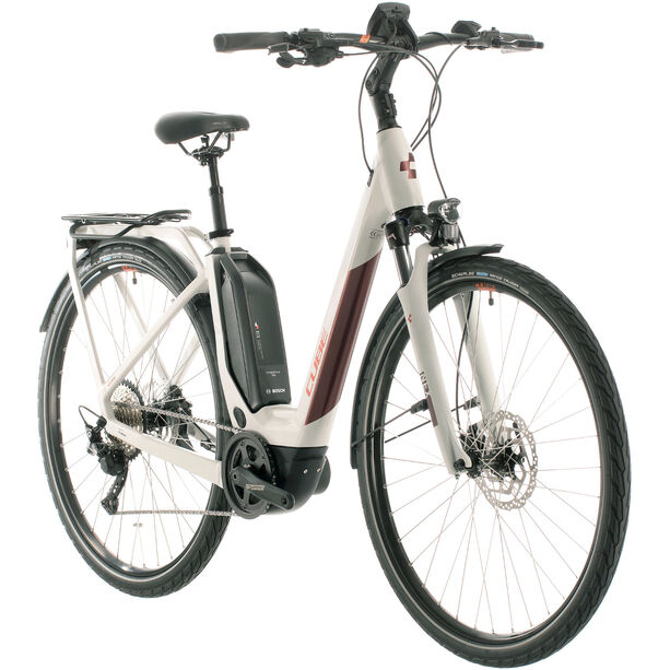 Cube Touring Hybrid Pro 500 Easy Entry grey/red