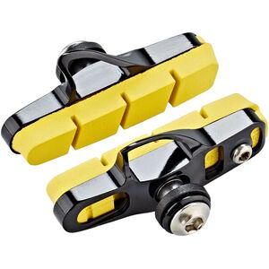 SwissStop Full FlashPro Bremsbeläge für Shimano/SRAM Carbon gelb-schwarz gelb-schwarz
