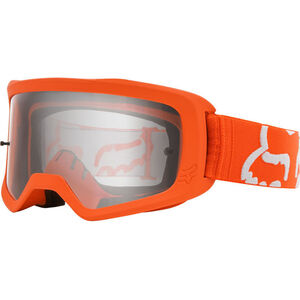 Fox Main II Race Brille Jugend fluorescent orange/clear fluorescent orange/clear