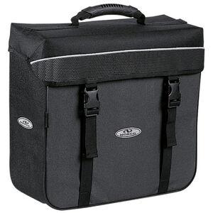 Norco Orlando City-Box Gepäckträgertasche schwarz/grau schwarz/grau