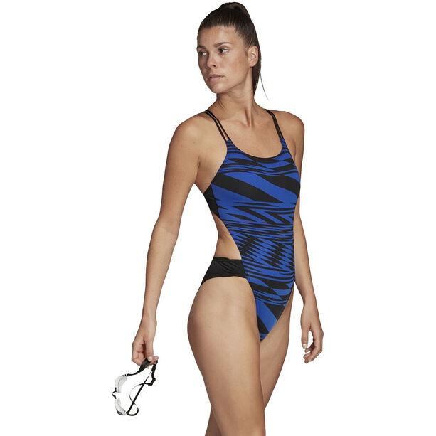 adidas Pro Tokyo WMB Badeanzug Damen team royal blue/black