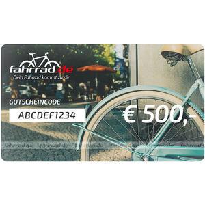 fahrrad.de Gift Voucher 500 €