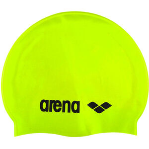 arena Classic Silicone Cap acid lime-black acid lime-black