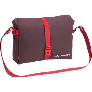 VAUDE ShopAir Box Handlebar Bag raisin raisin