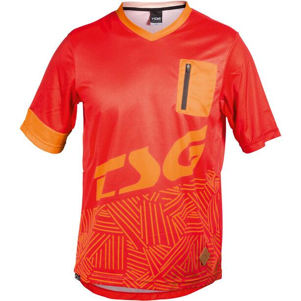 TSG SP3 SS Jersey Herren red-acid orange