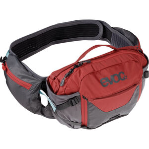 EVOC Hip Pack Pro 3l carbon grey/chili red carbon grey/chili red