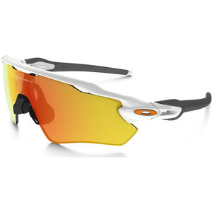 Oakley Radar EV Path Sunglasses polished white/fire iridium polished white/fire iridium