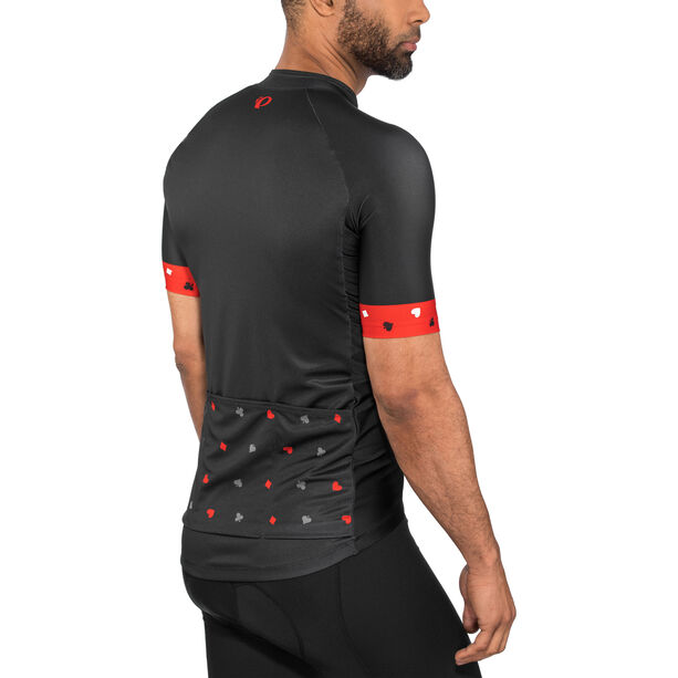 PEARL iZUMi Elite Pursuit LTD Jersey Herren card play black/torch red/smoked pearl