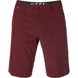 Fox Essex Stretch Tech Shorts Herren heather red heather red