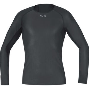 GORE WEAR Windstopper Base Layer Long Sleeve Shirt Men black