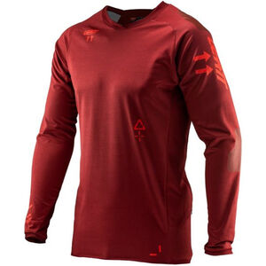Leatt DBX 5.0 All Mountain Jersey Herren ruby ruby