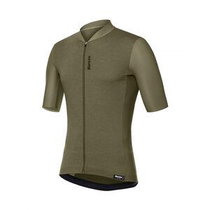 Santini Classe Jersey SS Herren verde militare verde militare