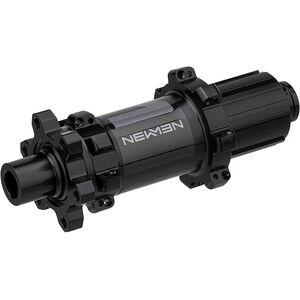NEWMEN MTB Hinterradnabe 12x142mm 6-Bolt Shimano Gen2 black anodized/grey black anodized/grey