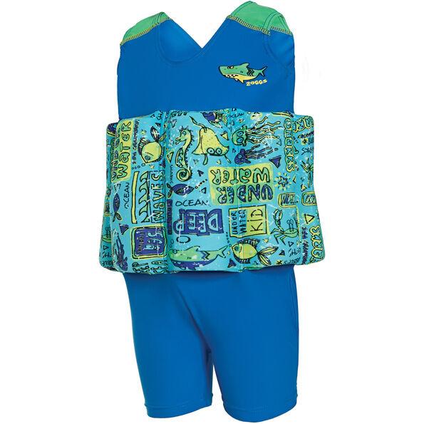 Zoggs Learn To Swim Floatsuit Kids Blue