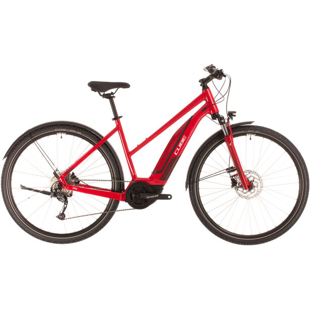 Cube Nature Hybrid One 400 Allroad Trapez red/red