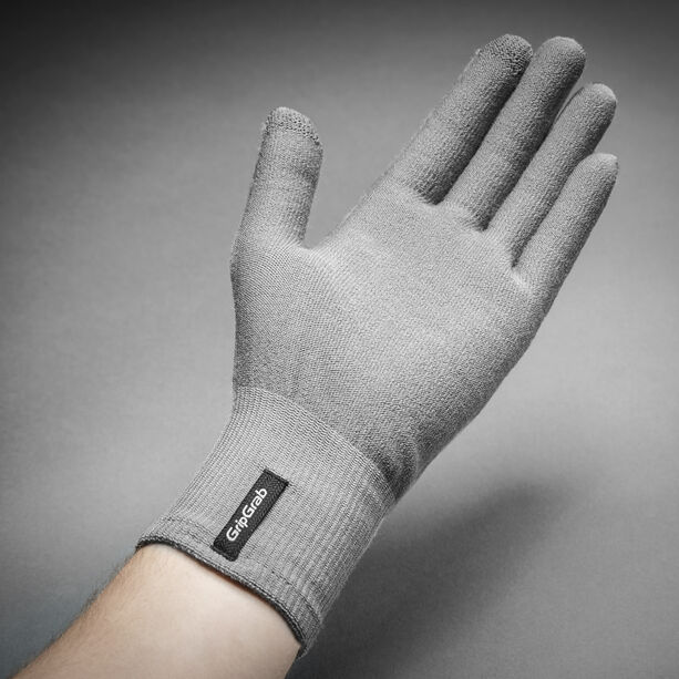 GripGrab Merino Liner Gloves grey