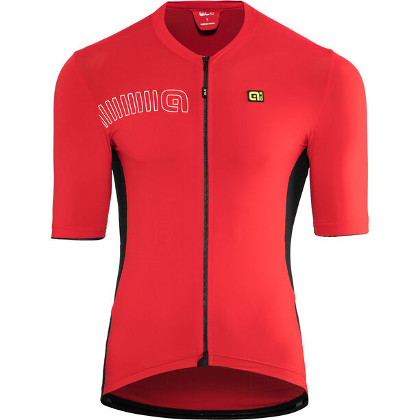 Alé Cycling Solid Color Block SS Jersey Herren red