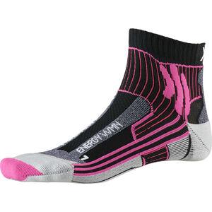 X-Socks Marathon Energy Socks Damen black/flamingo pink black/flamingo pink