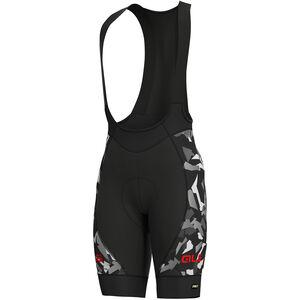 Alé Cycling Graphics PRR Glass Bib Shorts Herren black-grey black-grey