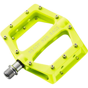 Cube RFR Flat Race Pedale neon yellow neon yellow