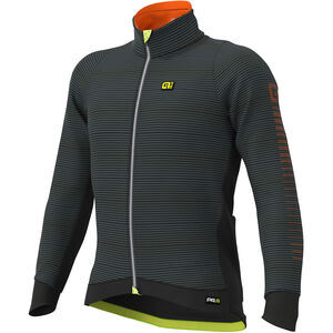 Alé Cycling Graphics PRR Thermo Road Jacke Herren black-fluo yellow black-fluo yellow