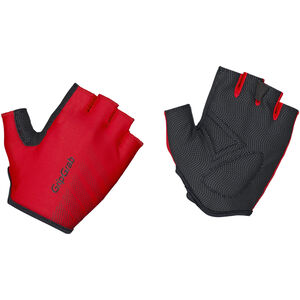 GripGrab Ride Lightweight Padded Short Finger Gloves red red