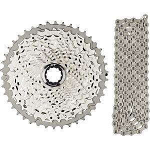 Shimano Deore XT CS-M8000 Kassette 11-42 & CN-HG701 Kette 11-fach Bundle bei fahrrad.de Online