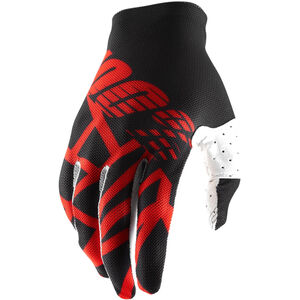 100% Celium 2 Gloves black/red/white black/red/white