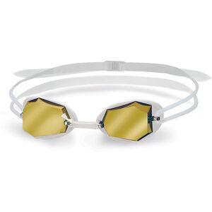 Head Diamond Mirrored Goggles white - white - clear white - white - clear
