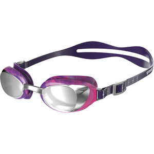 speedo Aquapure Max Mirror V2 Goggles Damen purple/silver purple/silver