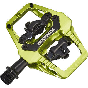 Sixpack Vertic Trail Pedale electric green electric green