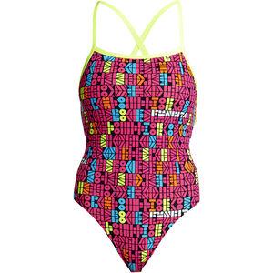 Funkita Strapped In One Piece Swimsuit Damen code breaker code breaker