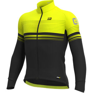 Alé Cycling Graphics PRR Slide Micro Jersey Herren black-fluo yellow black-fluo yellow