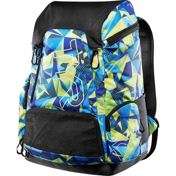 TYR Alliance Geo Print Backpack 45l blue/green blue/green