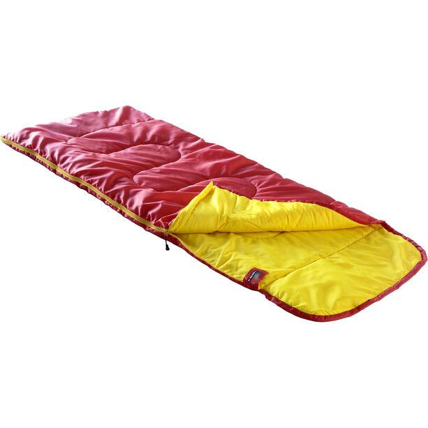 High Peak Kiowa Schlafsack links Kinder rot/orange