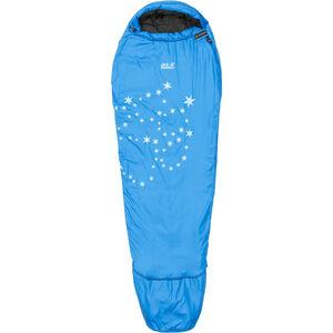 Jack Wolfskin Grow Up Star Sleeping Bag Kinder electric blue electric blue