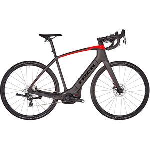 Trek Domane SL 6+ matte black/gloss red bei fahrrad.de Online