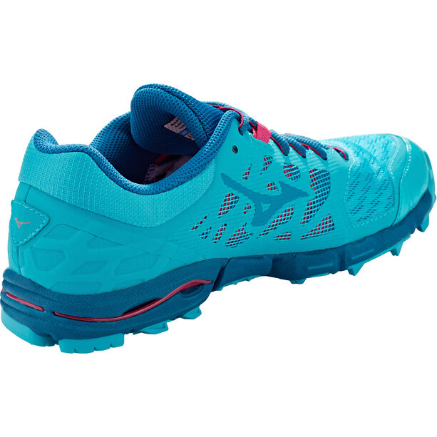 Mizuno Wave Hayate 5 Laufschuhe Damen peacock blue/estate blue/bright rose
