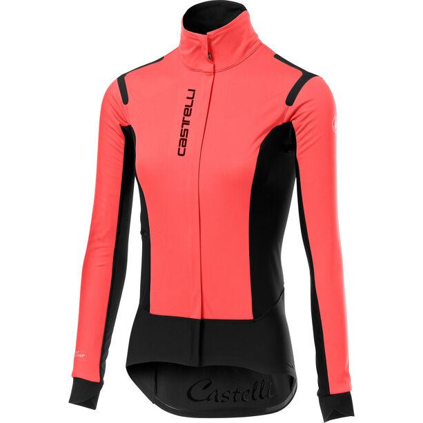 Castelli Alpha Rain Or Shine Jacke Damen brilliant pink/black