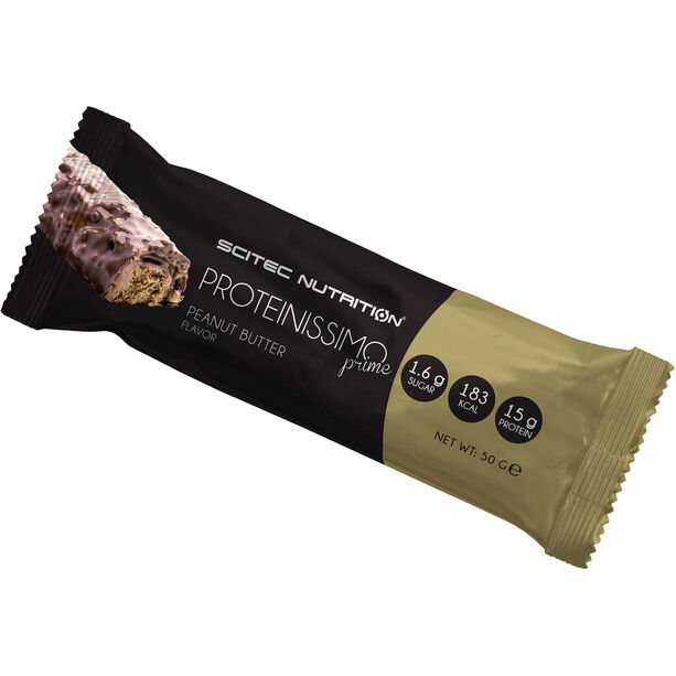 SCITEC Proteinissimo Prime Riegel Box 24x50g Erdnussbutter