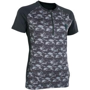 ION Traze AMP Half-Zip Kurzarm-Shirt Damen black black