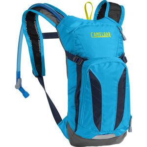 CamelBak Mini M.U.L.E. Hydration Pack 1,5l Kinder atomic blue/navy blazer atomic blue/navy blazer