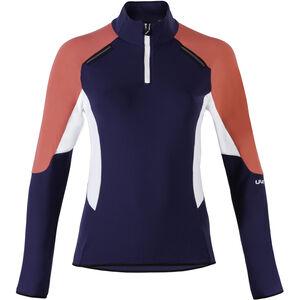 UYN Move Zip Up Jacket Woman Deep Blue/Geranium/Off White bei fahrrad.de Online