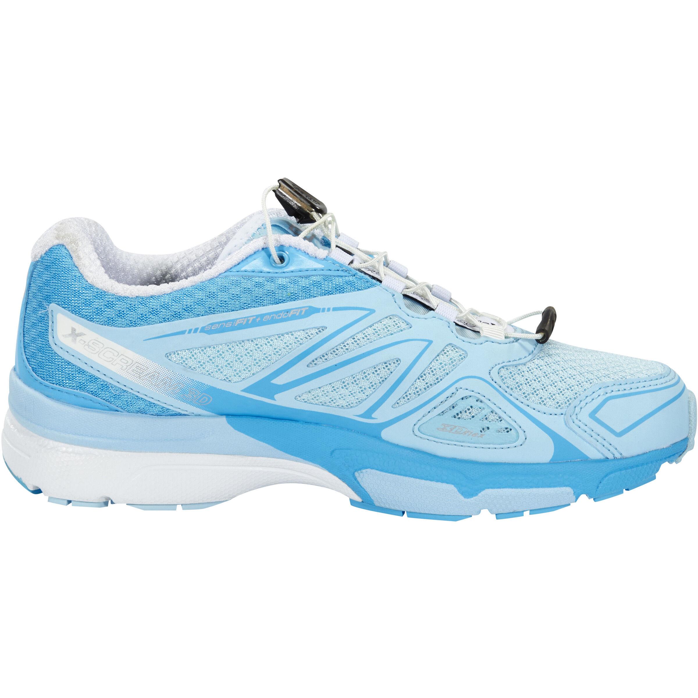 Salomon X Scream 3D Trailrunning Shoes Damen airwhiteblue line qfaFF