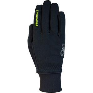 Roeckl Rossa Jr. Handschuhe schwarz/gelb bei fahrrad.de Online