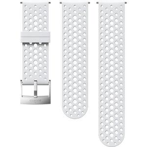 Suunto Athletic 1 Silicone Strap white/steel white/steel
